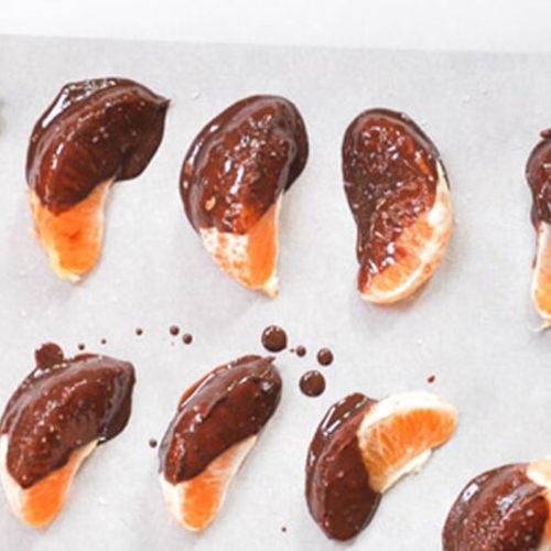 Аромат: «Мандарин в шоколаде»