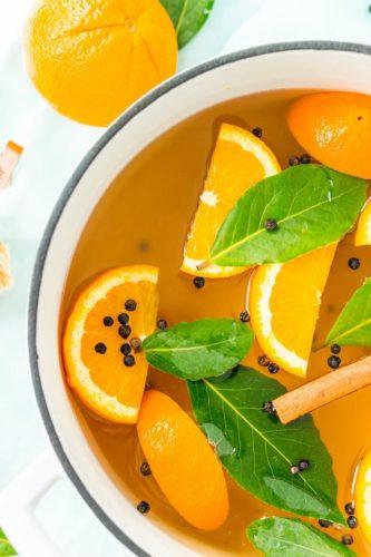Аромат: «Апельсин и черный перец»