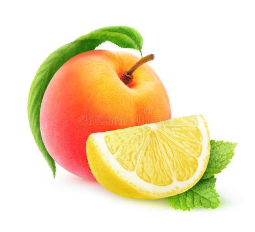 Аромат: «Лимон и персик»