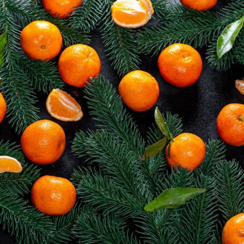 Аромат: «Елка и мандарины»